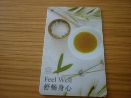 China Westin Hotel Room Key Card (Feel Well) - Cartes D'hotel