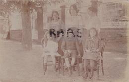 CARTE PHOTO,59,NORD,TOURCOING,ENFANTS DE MINEURS,1900,FAMILLE D'EPOQUE,RARE - Tourcoing