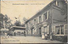 Enencourt-Léage (Oise) - Intérieur De L'Usine Patou En 1914 (Tannerie?) - Edition J. Bourgeois - Frankrijk