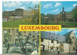 Luxembourg 1 Theatre  Municipale 2 Fondation Jp Pescatore 3 Place Du Theatre 4 Theatre Des Capucins - Luxembourg - Ville