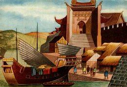 CHROMO  ENCYCLORAMA  LA VIE DE NOS ANCETRES  LA CIVILISATION CHINOISE - Trade Cards