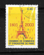 FRANCE 3545 Bicentenaire De La Chambre De Commerce Et D'Industrie De Paris  . Tour Eiffel - France
