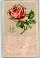 39181776 - Stickmuster Rose AK - Postcards