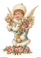 CHROMO DECOUPIS PETIT GARCON ANGE - PICCOLO ANGELO DEL RAGAZZO - LITTLE BOY ANGEL - KLEINER JUNGE ENGEL - Autres