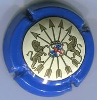 CAPSULE-CHAMPAGNE ROTCHILD BARON DE N°05 Licorne à Droite Contour Bleu - Autres