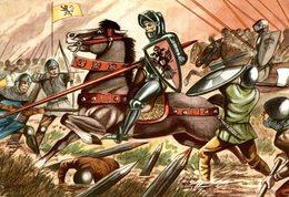 CHROMO  ENCYCLORAMA  LA VIE DE NOS ANCETRES  PHILIPPE LE BEL - Trade Cards