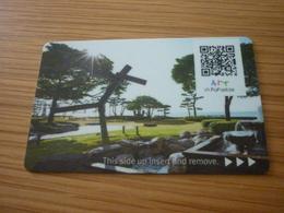 South Korea Busan Art In Paradise Hotel Room Key Card - Cartes D'hotel