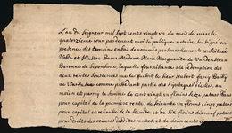 Van Den Steen Et Warfusée, En Hesbaye - Manuscripts