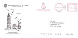 COMUNE DI CODIGORO FERRARA ABBAZIA DI POMPOSA - Affrancature Meccaniche Rosse (EMA)