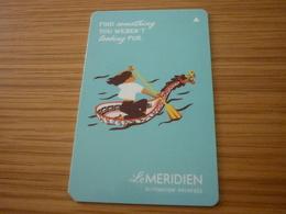 China Le Meridien Hotel Room Key Card (dragon) - Cartes D'hotel