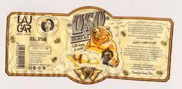 """Etiquette De Bière Espagnol """" OSO """" Miel Ours Abeilles Apiculteur (2916)_Eb140 - Beer"""
