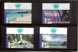 M27 - VANUATU - 1226 / 1229 ** MNH De 2005 - Paysages Des Côtes - - Vanuatu (1980-...)