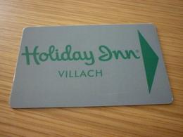 Austria Villach Holiday Inn Hotel Room Key Card - Cartes D'hotel