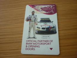 Crowne Plaza International Hotel Room Key Card (BMW Car Motorsport Voiture) - Cartes D'hotel