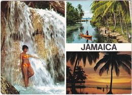 Jamaica - (Publ.: John Hinde) - 'C-Day 8th September 1969'  Print On Jamaica 9D - 8C Stamp - Jamaica
