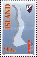 USED STAMPS Iceland - The 100th Anniversary Of Seydisfjördur  - 1995 - 1944-... Republic
