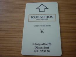 Germany Dusseldorf Nikko Hotel Room Key Card (Louis Vuitton) - Cartes D'hotel