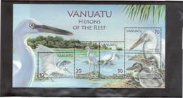 M27 - VANUATU- BF5 ** MNH De 2007 - Faune - Oiseaux - AIGRETTE SACREE DES RECIFS - - Vanuatu (1980-...)