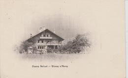 19 / 1 / 319  - CHAMP  BELLUET  -  BLONAY S/ VEVEY  ( VD ) - VD Vaud