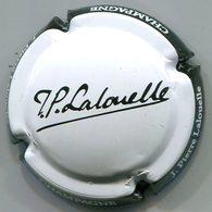 CAPSULE-CHAMPAGNE LALOUELLE J.P. N°10 Blanc Ctr Noir - Autres