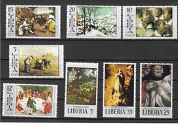LIBERIA Nº 478 AL 485 - Arte