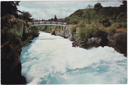 Huka Rapids, Waikato River, New Zealand - Nieuw-Zeeland