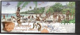 M28 - VANUATU- 1206/1209 ** MNH De 2005 Sur Feuillet - Le PEUPLE LAPITA - Explorateurs Du Pacifique - - Vanuatu (1980-...)