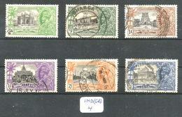IND (GB) YT136/141 En Obl. - 1936-47  George VI