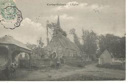B/   80    Cerisy-buleux      Le Bourg & L'église - France