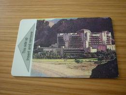 Sultanate Of Oman Al Bustan Palace Intercontinental Hotel Room Key Card (version B) - Cartes D'hotel
