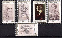 1969 VLeonardo Da Vinci MNH Small Quantity Issued! (241) - Albania