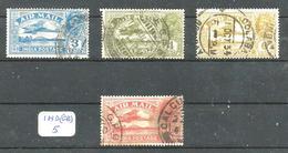 IND (GB) YT PA 2/3/4/6 En Obl. - Indien (...-1947)
