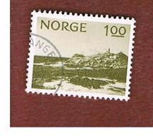 NORVEGIA  (NORWAY)    SG 714  -   1974 LINDESNES CAPE     -   USED ° - Norvegia