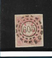 D-Bay076 / Bayern, Mi.Nr. 15, Mühlrad  605 (+ 181) Eisenberg - Bavaria