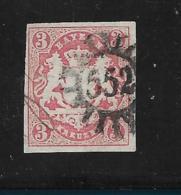 D-Bay078 / Bayern, Mi.Nr. 15, Mühlrad  552 (+ 40) Waichenfeld - Bayern