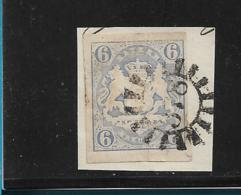 D-Bay087 / Bayern, Mi.Nr. 16, Mühlrad 378 (+ 15) Ottobeuren - Bavaria