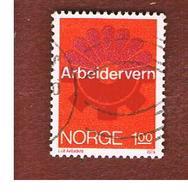 NORVEGIA  (NORWAY)    SG 721  -   1974 INDUSTRIAL SAFETY  -   USED ° - Norvegia