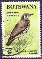Botswana - Akaziendrossel (Turdus Litsitsirupa)  (Mi.Nr.: 21) 1967 - Gest Used Obl - Botswana (1966-...)