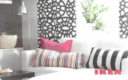 IKEA * FURNITURE STORE * SWEDEN * SWEDISH * LAMP * PLANT * Ikea 2010 03 Fr E * France - Cartes Cadeaux