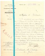 Brief Lettre - Gemeente Rooborst - Roborst - Naar Kadaster 1923 + Brief Met Antwoord - Non Classés