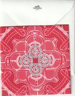 HERMES  Carte De Voeux 2018  + Enveloppe - Cartes Parfumées