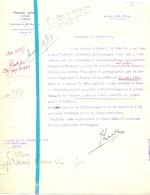Brief Lettre - Notaris Fernand Luyck Renaix Ronse - Naar Kadaster 1930 - Non Classés