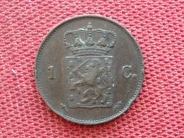 PAYS BAS Monnaie De 1 Cent 1873 TTB+++++ - 1849-1890 : Willem III