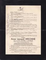GILLY TURNHOUT Aimé MISONNE époux Van RAVESTIJN Tribunal De Turnhout Famille BOONE 1855-1936 - Décès