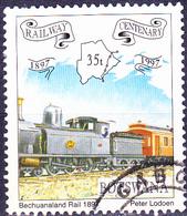 Botswana - Zug Der Bechuanaland Railway (Mi.Nr.: 623) 1997 - Gest Used Obl - Botswana (1966-...)