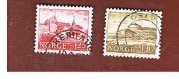 NORVEGIA  (NORWAY)    SG 774.775   -   1977  BUILDINGS -   USED ° - Norvegia