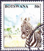 Botswana - Steppenzebra (Equus Quagga) (Mi.Nr.: 572) 1994 - Gest Used Obl - Botswana (1966-...)