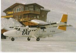 CP AVION DE HAVILLAND DHC 6 300 TWIN OTTER F-GFAF AT COURCHEVEL - 1946-....: Moderne