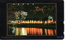 Feu D'artifice Télécarte Japon  Phonecard  (G 63) - Paysages