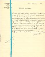 Brief Lettre - Notaire A. J. Depratere - Renaix Ronse - Naar Kadaster 1925 - Non Classés